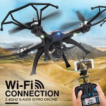 5.8G FPV RC Quadcopter Dengan Kamera 2MP rc drone 4CH H25 2.4 GHz 6-axis Gyro RC Quadcopter Satu Kembali Kunci CF Modus 360 Eversi mainan