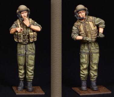 1/35 In Resina Kit Israele Serbatoio Soldato 2 pcs/1 set (totale 2 stili)1/35 In Resina Kit Israele Serbatoio Soldato 2 pcs/1 set (totale 2 stili)