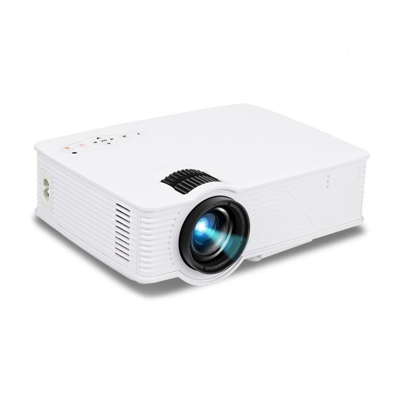 1200 Lumens Portable Projector 800*480 Resolution 1080P LED Projector Throw 120'' Screen Home Cinema Support HD AV SD USB Movie portable mini projector home cinema digital smart led projectors support 1080p movie pc video game can use mobile power supply