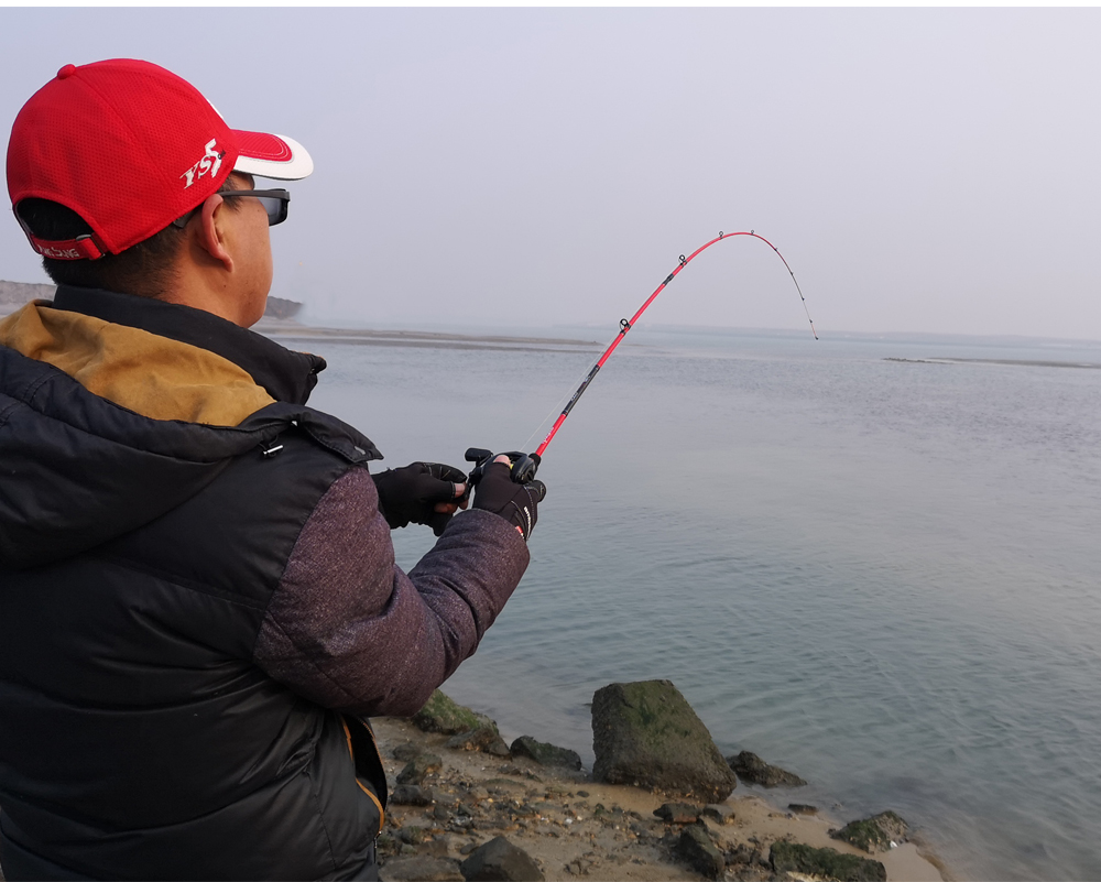 RoseWood Ultra Light, Solid Tip Rod 30T Carbon Casting Spin Fishing Rod 1.98m Fast Light Saltwater Squid Pike Fishing Pole   (11)
