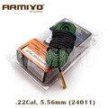 Armiyo диаметр змеи. 22Cal 5,56 мм пистолет очистка скважин слинг страйкбол баррель очиститель охотничья стрельба аксессуары 24011 - фото