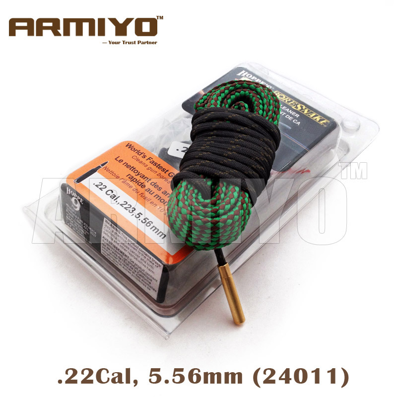 Armiyo Bore Snake .22Cal 5.56mm Gun Bore Cleaning Sling Airsoft Barrel Cleaner Hunting Shooting Accessories 24011