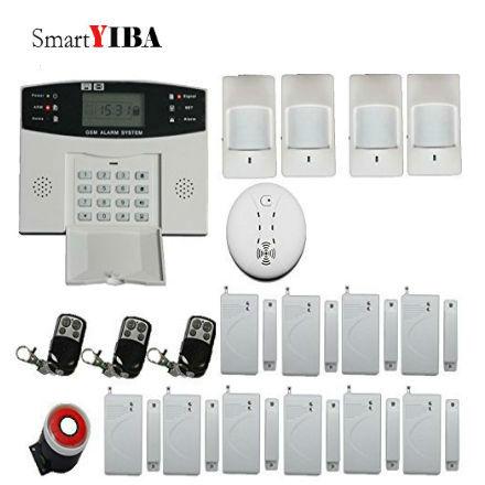 купить SmartYIBA Residential Alarm Smart House Security Alarm System Sensor Motion Support 2G SIM Card SMS Alert Russian Spanish Voice по цене 2167.76 рублей