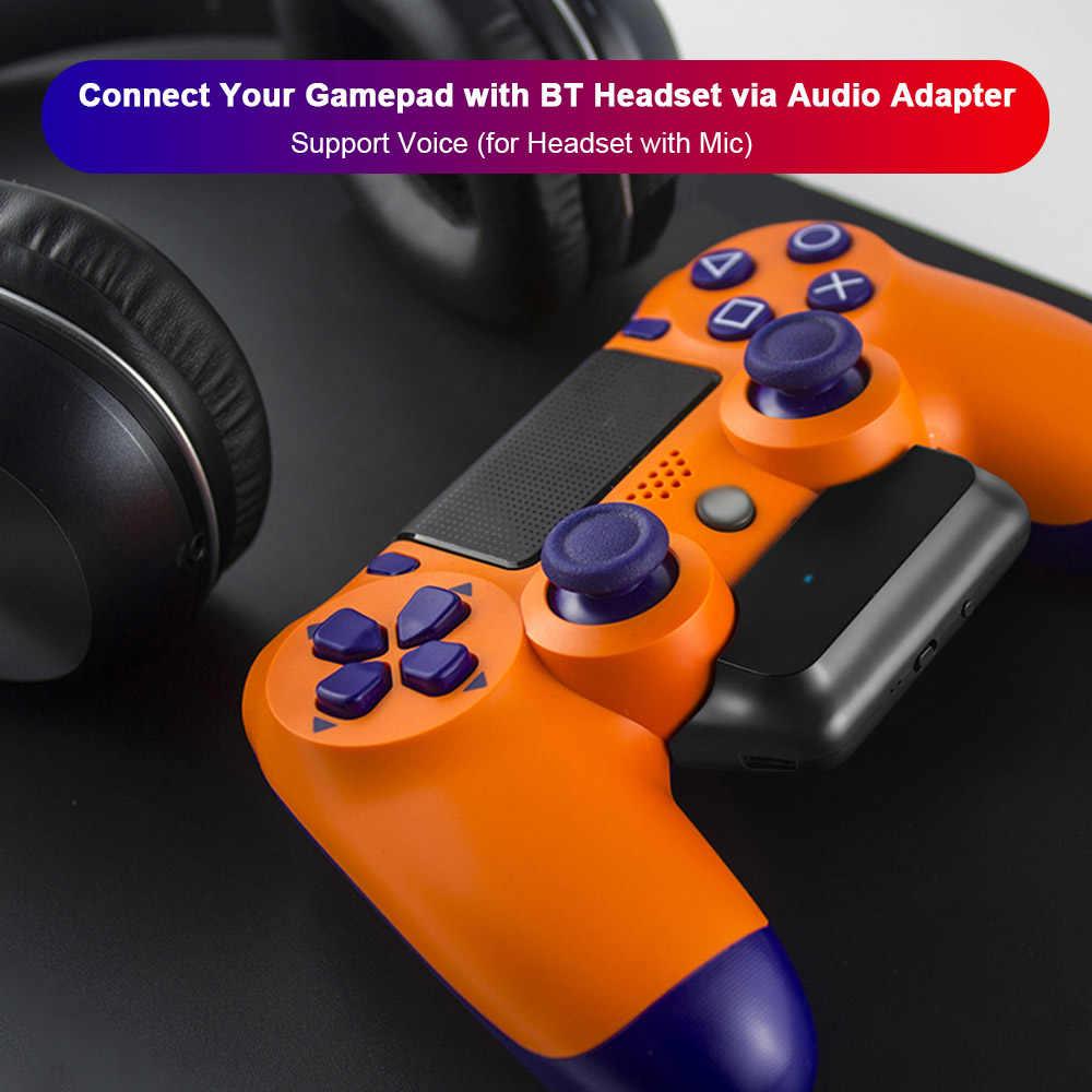 Игровые аксессуары 5G Беспроводной мини аудио адаптер Bluetooth 5,0 игровой приемник с гарнитурой конвертер для PS4