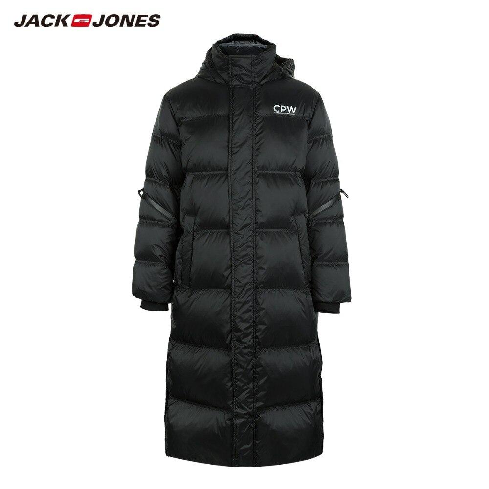 JackJones hommes hiver Long à capuche canard extérieur survêtement hiver homme décontracté mode doudoune manteau homme | 218312520 - 5