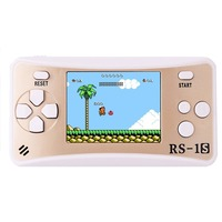 10 Pcs Lot 8 Bit 2 5 Inches Portable Handheld Game Console Video Game Built In
