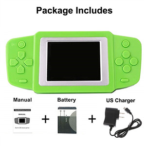 Image 4 - Video Game Retro Handheld Games Console for Kids with Built in 268 Classic Old Games Best Gift for Child Nostalgic Player Puzzle