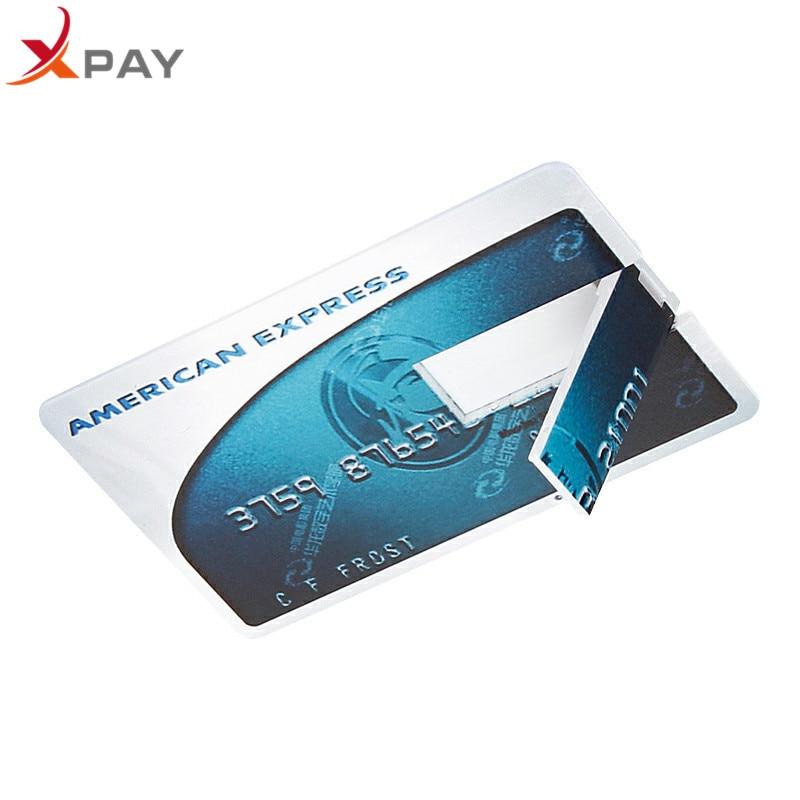 Image 3 - Usb flash drive 32gb 2.0 Super thin bank card USB Flash 128GB flash stick 32GB Pen drive 64GB pendrive 4GB 8GB 16GB free LOGO-in USB Flash Drives from Computer & Office