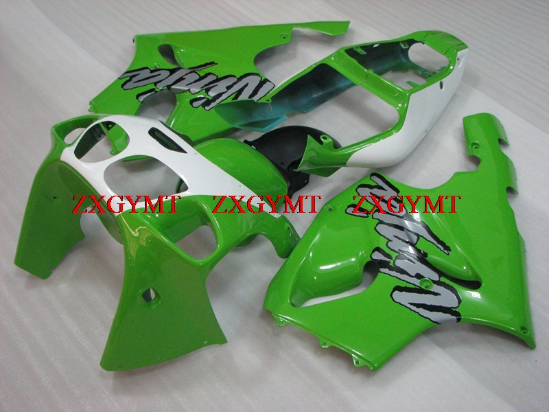 Motorcycle Fairing for Zx-7r 1996 - 2003 Full Body Kits Zx7r 00 01 Green White Motorcycle Fairing Zx-7r 2000Motorcycle Fairing for Zx-7r 1996 - 2003 Full Body Kits Zx7r 00 01 Green White Motorcycle Fairing Zx-7r 2000