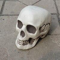Halloween Skeleton Skull Halloween Skull Bones Life Size120 Skull Haunted House Escape Horror Props Decorations