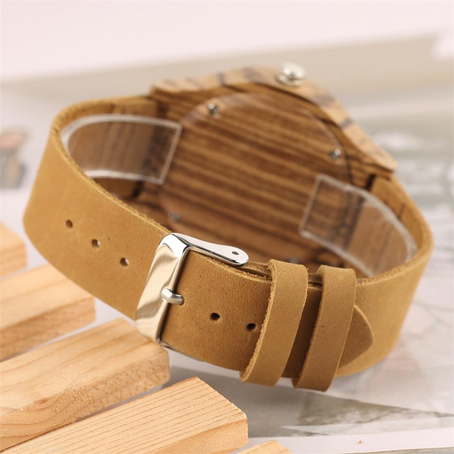nature wood watch creative watches men23