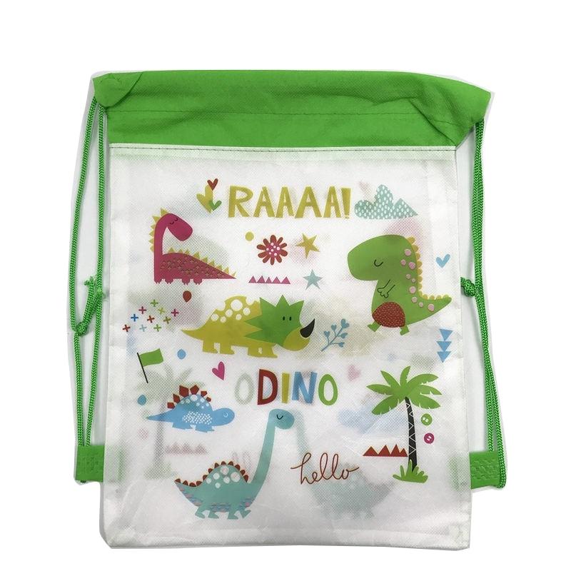 1Pcs Cartoon Dinosaur Backpack For Children Cute Mochilas Infantis School Bags Shark Drawstring Bag School Knapsack Baby Bags