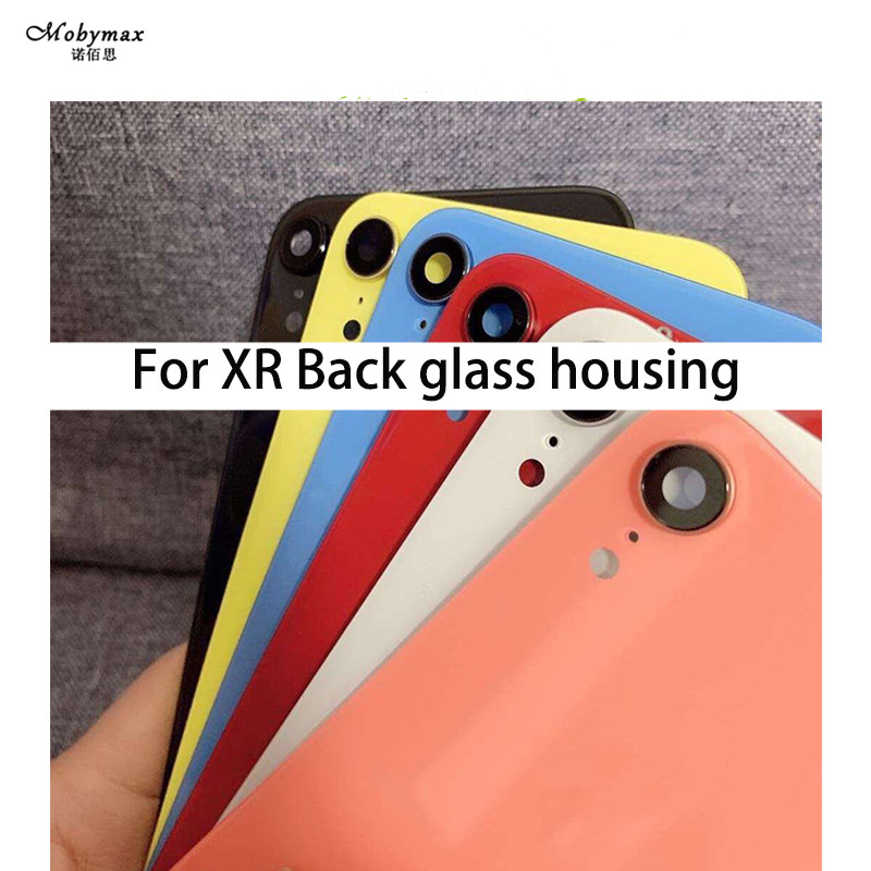 Cover Door-Chassis-Frame Back-Housing iPhone Glass XR for Rear