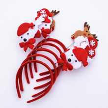 Christmas Headband Light Up Hat Glasses Pen Brooch Accessories Decoration For Party Holiday MDP66