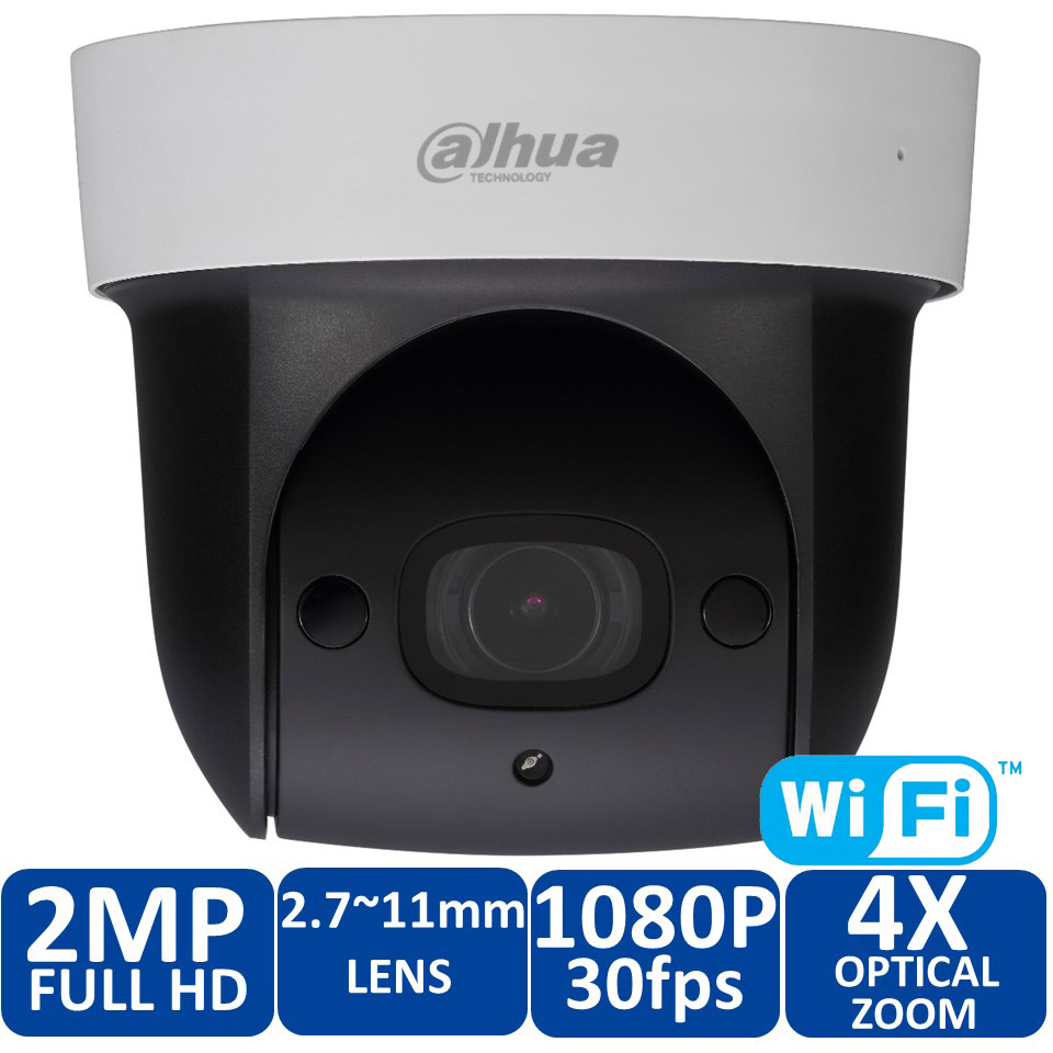 Dahua DH-SD29204T-GN-W 360 degree rotating panoramic camera 2MP HD infrared night vision 30m Built-in WIFI camera SD29204T-GN-W a7220 usb built in mic 360° rotating web camera for pc laptop
