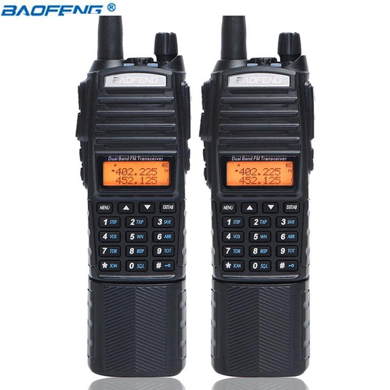 BaoFeng UV 82 Plus 10km High Power 3800mAh Battery Walkie Talkie Dual Band Radio 10KM With