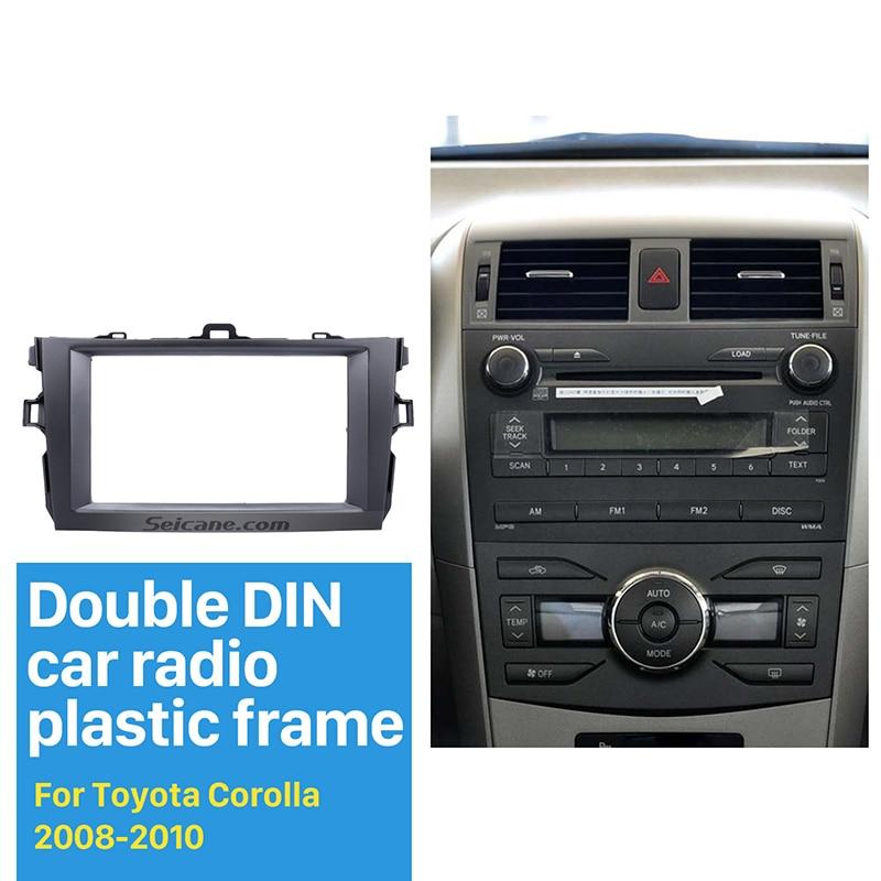 Seicane Double Din Car Radio Fascia For 2008 2009 2010 Toyota Rhaliexpress: Car Radio Wiring Harness Kits For Toyota Corolla At Gmaili.net