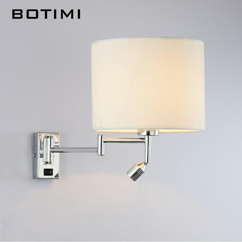 BOTIMI Comodino LED Lampada Da Parete Per Soggiorno Applique Da ...