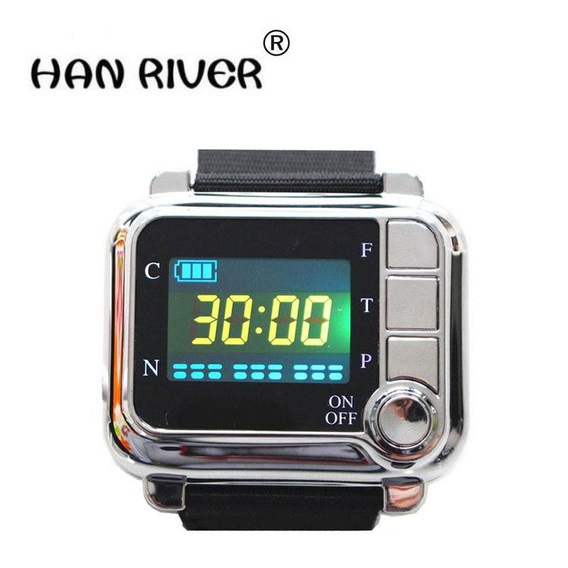 TV 650nm Laser Terapia di massaggio Polso Diodo Laser orologio A Semiconduttore sinusite Laser Diabete apparecchi Terapeutici