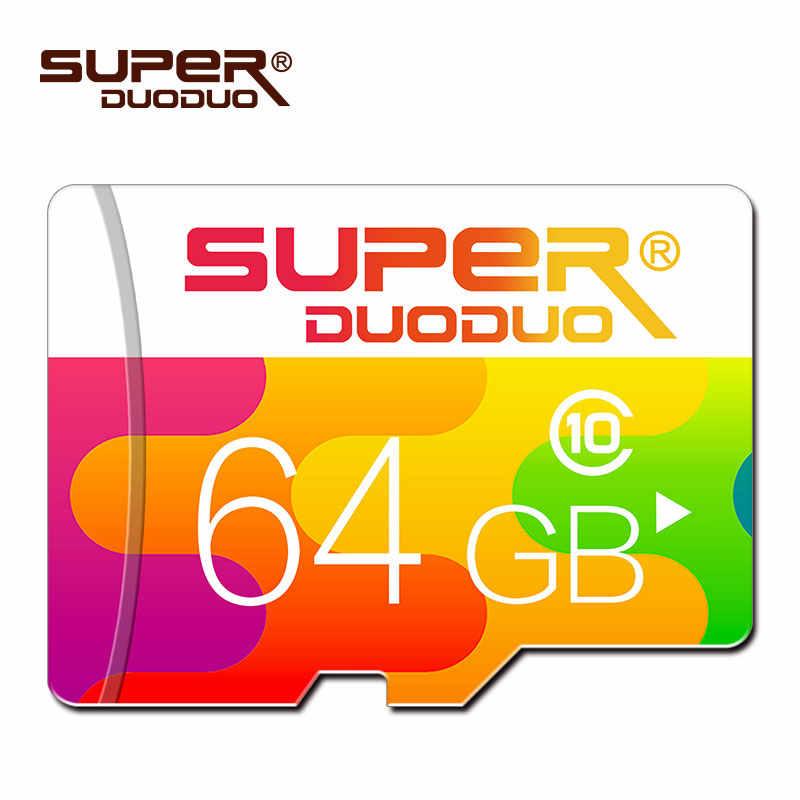 Wysoka prędkość 32 GB 64 GB micro sd karty 16 GB 32 GB tarjeta micro sd karta pamięci 8 GB karty TF class10 Cartao De Memoia wyboru z karty sd