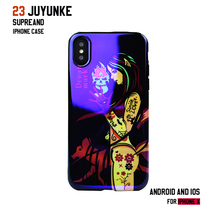 Applicable iPhone Xs Max Blu-ray phone shell personality girl iPhoneXS / XR all-inclusive set old boy 7/8plus case