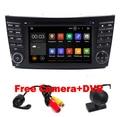 Android 5.1 Quad Core 1024*600 Pantalla Táctil de Coches Reproductor de DVD para Mercedes/Benz Clase E W211 W209 W219 3G WIFI Radio Stereo GPS 3G
