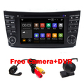 Android 5.1 Quad Core 1024*600 Touch Screen Car DVD Player for Mercedes/Benz E Class W211 W209 W219 3G WIFI Radio Stereo GPS 3G