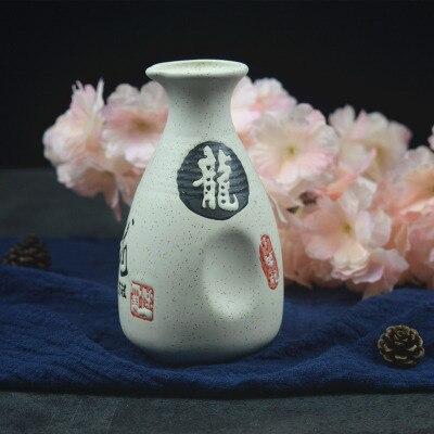 Японский ликер горшок Ретро керамика теплые емкость для ликера дистрибьютор бытовой маленькие белые вина флакон китайский barware Сакура - Цвет: 5