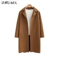 Uwback 2017 Spring Brand Women S Trench Coat Camel Long Straight Cloak For Women Casual Windbreaker