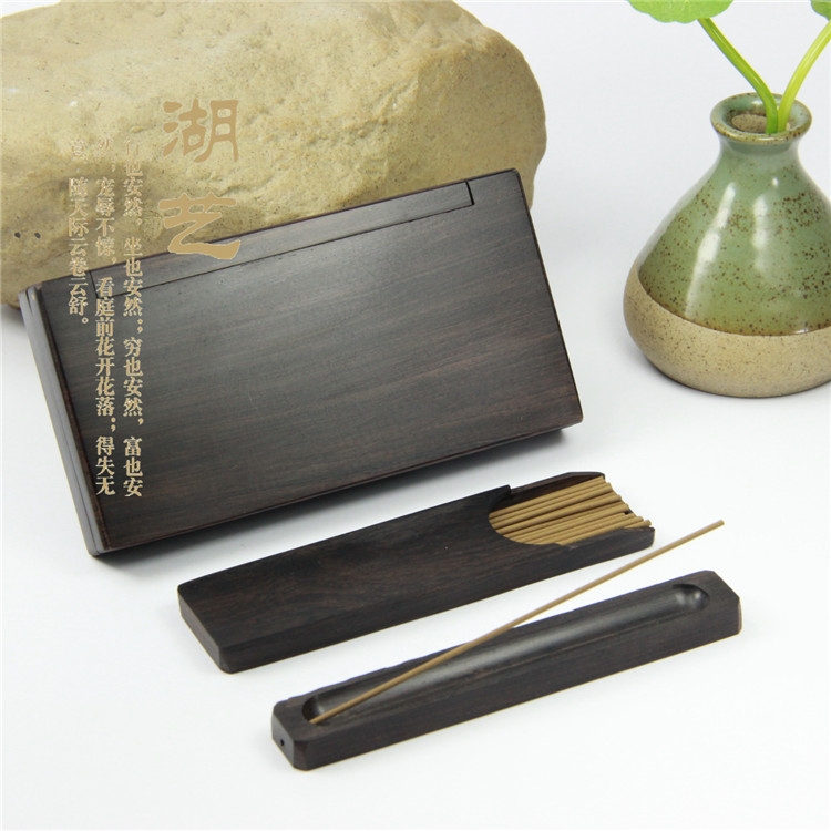 Ebony wood carving incense can be means of logo incense incense wholesaleEbony wood carving incense can be means of logo incense incense wholesale