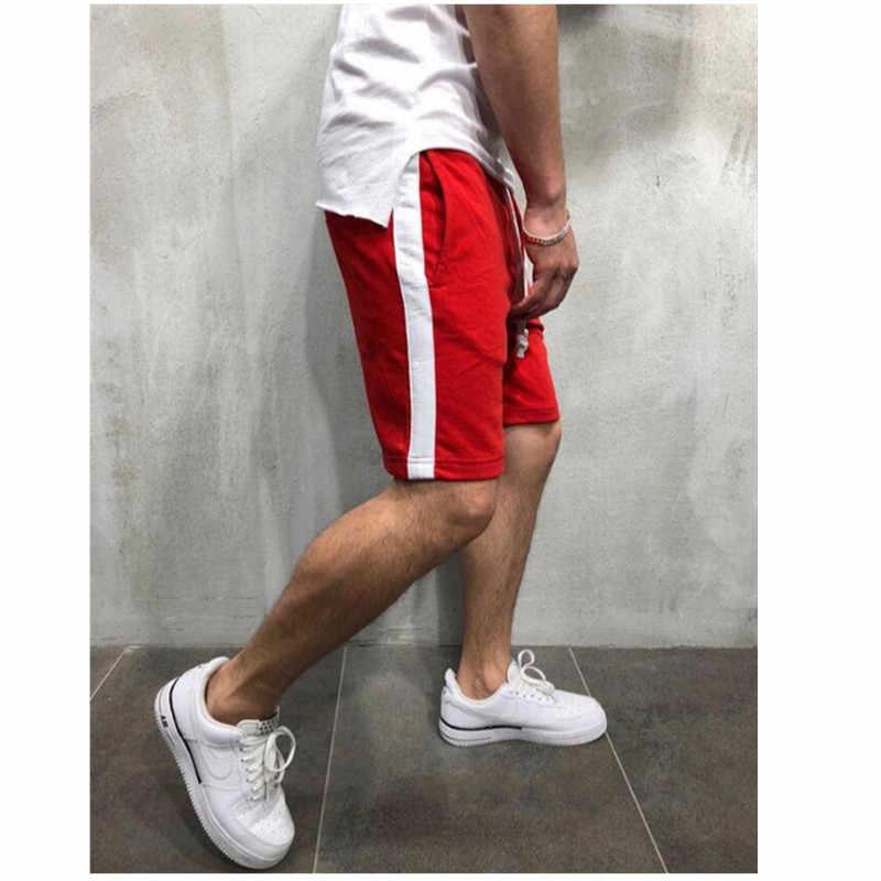 Männer Kurze 2019 Marke Atmungsaktive Bermuda Masculina Beiläufigen Schnelle trocknend Kurzen Masculino Curto Sommer Kurze Hosen Jungen