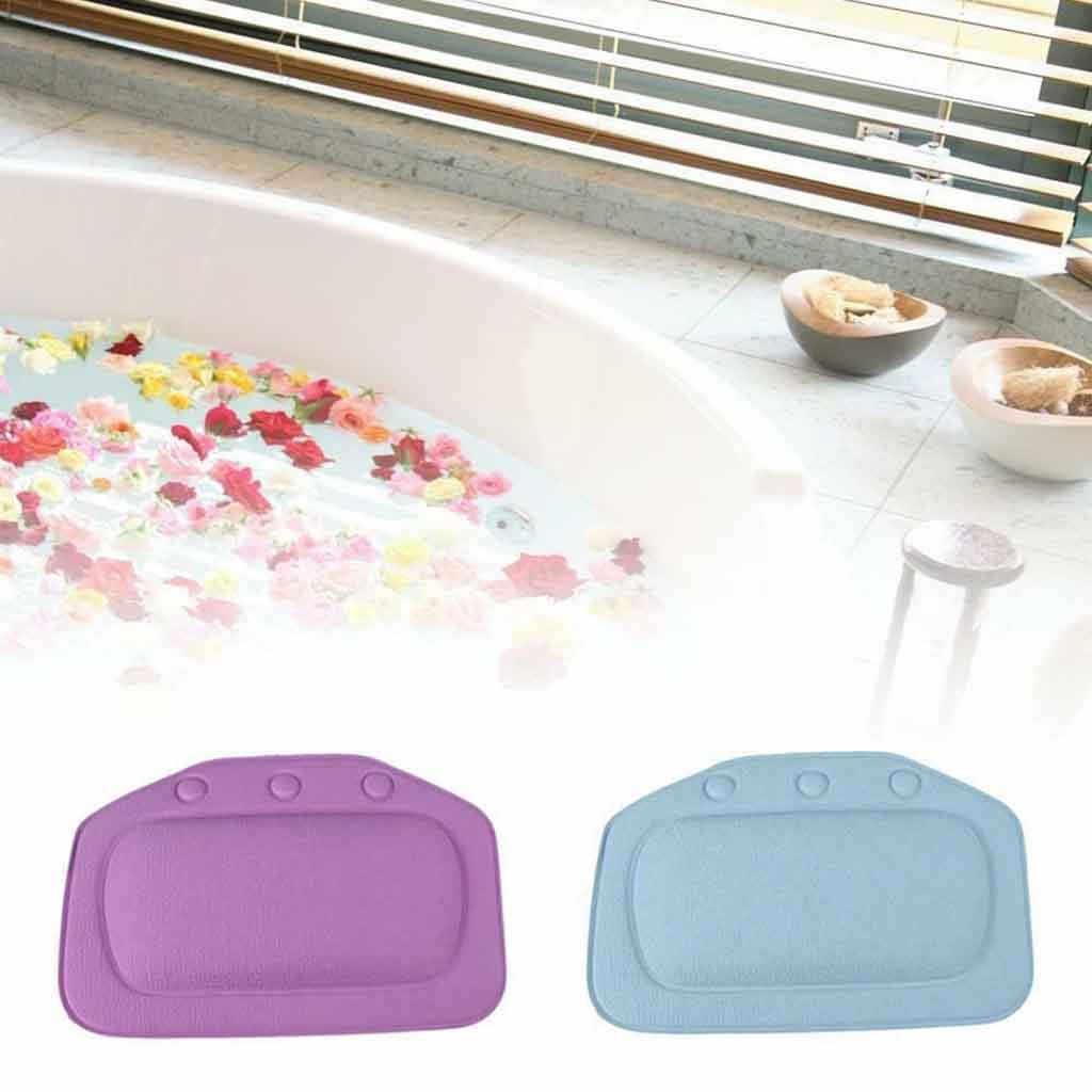 Wysokiej jakości nowe pcv stylowe wygodne SPA poduszka do kąpieli wanna łazienka szyi zagłówek samochodowy miękka podkładka ssania, łatwa do czyszczenia, poduszka do kąpieli