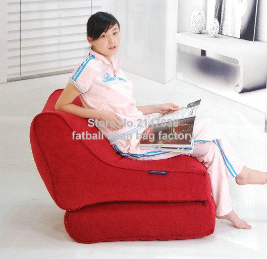 Polyester Folding chair, living room fold bean bag sofa seat - outdoor  waterproof garden furniture set, patio chair, hammock