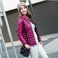 2016 Autumn Winter Women Basic Jacket Casual Parka Coat Female Warm Black Slim Jacket Outwear Down Coat Plus Size 4XL