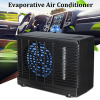 Portable Mini Car Air Conditioner Home Car Cooler Cooling Fan Water Ice Evaporative Car Air Conditioner 12/24V