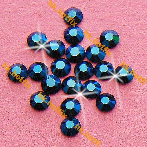 ss16 GENUINE Swarovski Elements Metallic Blue ( METBL )720 pcs 16ss ( No hotfix  Rhinestone 1fd64694a6ec