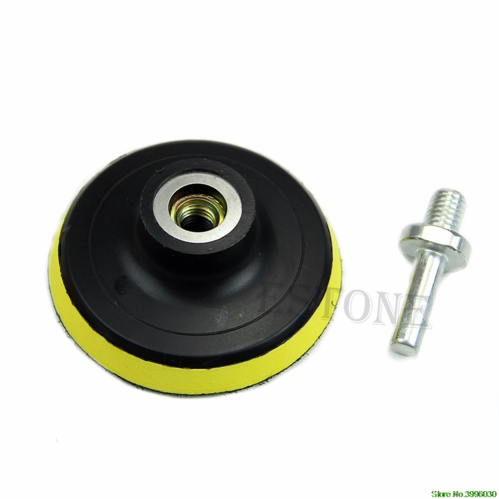 "6pcs 75mm 3/"" High Gross Polishing Buffing Pad Kit for Car Polisher Buffer"