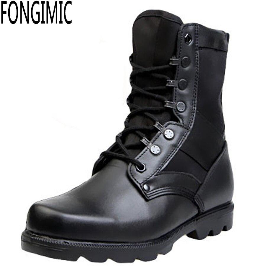 Male Combat Boots Fashion