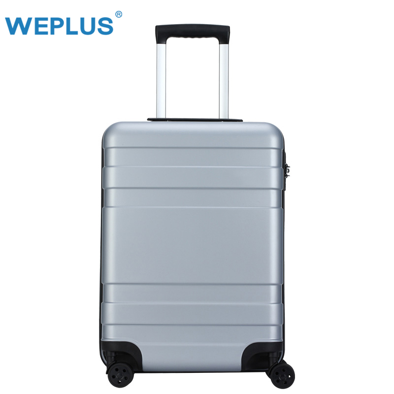 все цены на carry on luggage case 20 Inch 24'' trolley case Travel luggage suitcase customs lock business Boarding suitcase for Women light онлайн