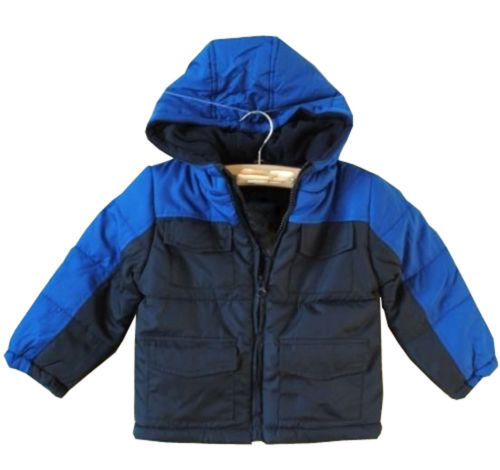New Baby Boys Fleece Coat Hooded Winter Outerwear Jacket 2 3Year