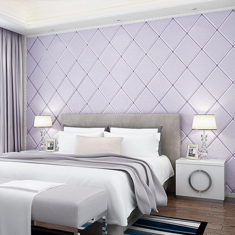 Luxe moderne motif géométrique épaissir 3D papier peint salon TV mur papier peint 3D épais papier peint rouleau