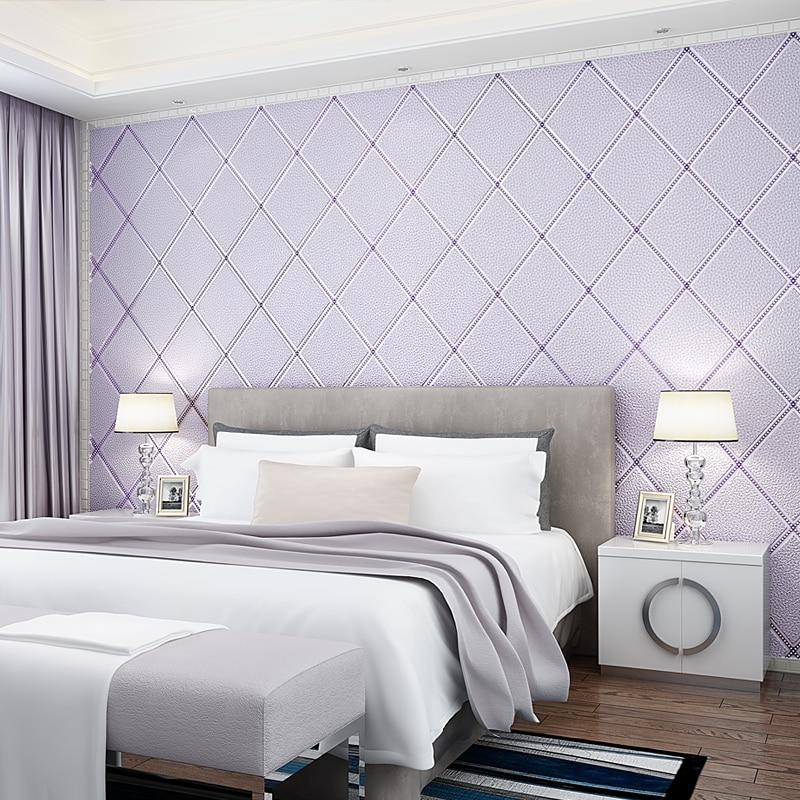 Luxury Modern Geometric Pattern Thicken 3D wallpaper living room TV wall wallpaper 3D thick wallpaper roll beibehang modern minimalist deerskin cashmere wallpaper 3d fashion thickened abstract geometric pattern nonwovens 3d wallpaper