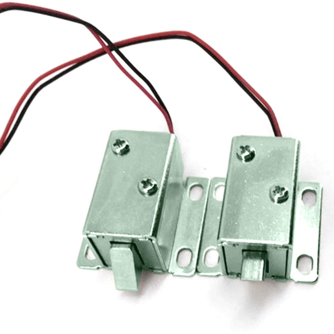 0627-28-12v Dc 12v Electronic Door Lock Electromagnetic Lock For Cabinet Locks/solenoid Locks/drawer Low Price Hardware Home Improvement