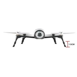 Image 3 - 4 adet Kauçuk Durumlarda Iniş takımı Yükseklik Uzatıcı Bacak Koruyucu Uzatma Papağan BEBOP 2 FPV HD Video Drones Iniş dişli