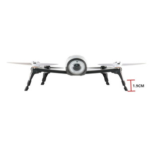 Image 3 - 4pcs Rubber Cases Landing Gear Height Extender Leg Protector Extension For Parrot BEBOP 2 FPV HD Video Drones Landing Gear