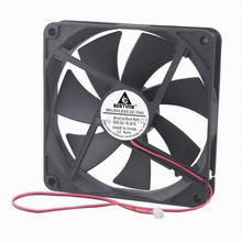 10 Pieces Gdstime 140mm Computer DC 12V 140x140x25mm Ball Bearing Cooling Cooler Fan 14cm 14025