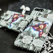 Marvel Spiderman Batman Phone Case iPhone  5 5s se 6 6plus 6s plus 7 7plus 8 X