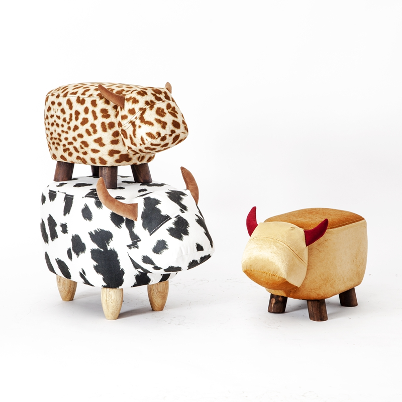 2017 Special Offer Real Chinese Porcelain Pouf Poire Cattle Stool Children Shoes Bench Animal Cow Bag Wooden Modern offer wings xx2449 special jc australian airline vh tja 1 200 b737 300 commercial jetliners plane model hobby