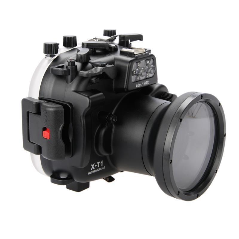 Waterproof Underwater Housing Camera Housing Case for Fujifilm Fuji XT1 X-T1 18-55mm waterproof underwater diving camera housing hard bag case for fujifilm fuji x pro 2 xpro 2 xpro2 mark ii 16 50mm 35mm lens