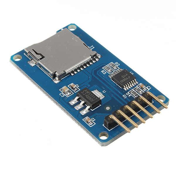最高のプロモーションマイクロtfカードメモリシールドモジュールのspiマイクロアダプタ用arduinoの新しい電気ユニット高品質